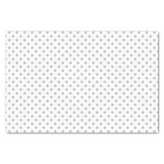 Christmas Silver Polka Dot Wrapping Tissue Paper