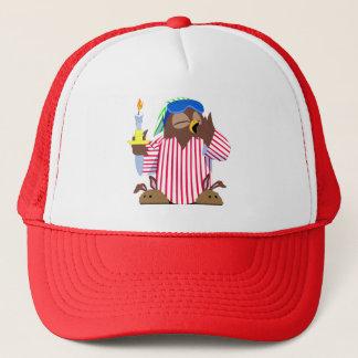 Christmas Sleepy Owl Trucker Hat