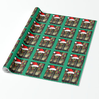 Christmas Slot Machines Wrapping Paper