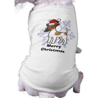 Christmas Smooth Fox Terrier Doggie Tee