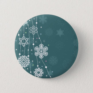 Christmas snow2 2 inch round button