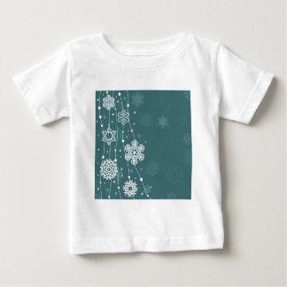 Christmas snow2 baby T-Shirt