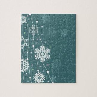 Christmas snow2 jigsaw puzzle