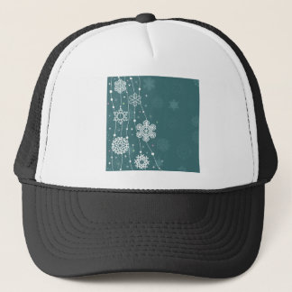 Christmas snow2 trucker hat