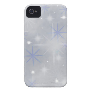 Christmas snow abstract iPhone 4 cases