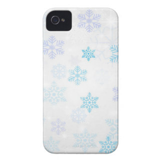 christmas snow abstract iPhone 4 cover