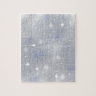 Christmas snow abstract jigsaw puzzle