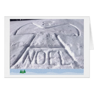Christmas Snow Angel Card