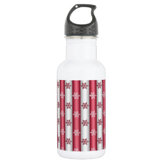 Christmas Snow Flakes 532 Ml Water Bottle