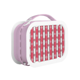 Christmas Snow Flakes Lunch Box