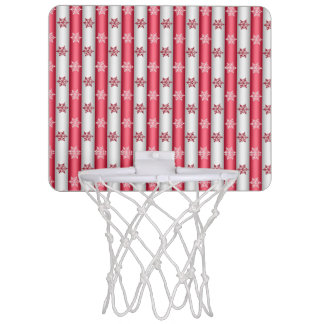 Christmas Snow Flakes Mini Basketball Hoop