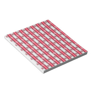 Christmas Snow Flakes Notepad