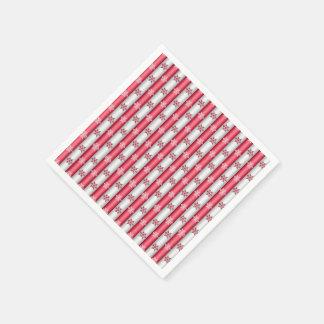 Christmas Snow Flakes Paper Napkin