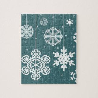 Christmas snow jigsaw puzzle