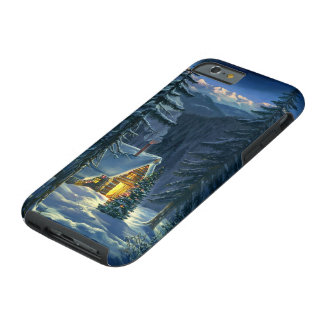 Christmas Snow Landscape Tough iPhone 6 Case