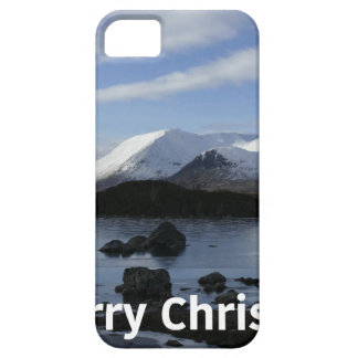 Christmas snow on Black Mount , Scotland Case For The iPhone 5