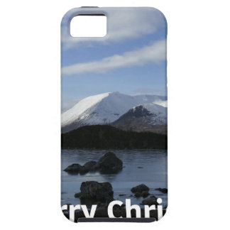 Christmas snow on Black Mount , Scotland iPhone 5 Cases