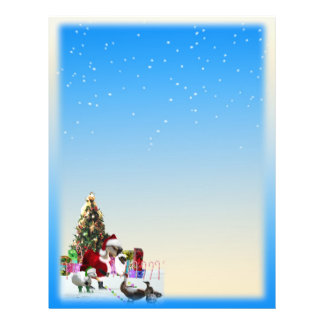 Christmas Snow  Two Sided Flyer