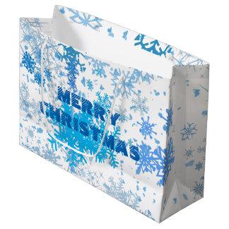 Christmas Snowfall Large Gift Bag