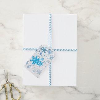 Christmas Snowfall Pack Of Gift Tags
