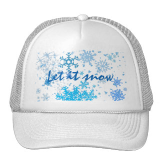 Christmas Snowfall Trucker Hat