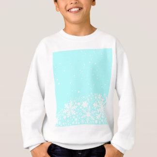Christmas Snowflake Background Sweatshirt