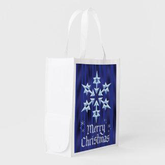 Christmas Snowflake Holiday gift bag
