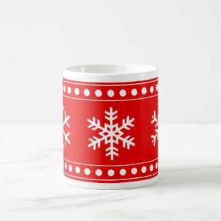 Christmas Snowflake Mug