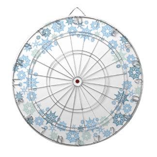 Christmas Snowflake Pattern Gift Dart Board