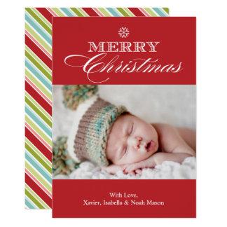 Christmas Snowflake | Red Card