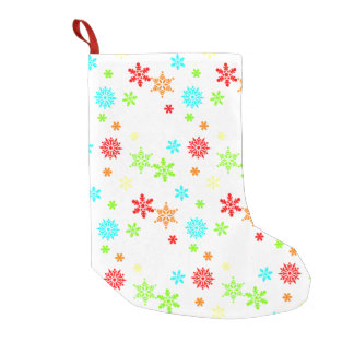 Christmas Snowflake Small Christmas Stocking