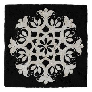 Christmas Snowflake Stone Trivet
