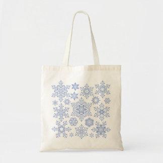 Christmas Snowflake Tote Bag