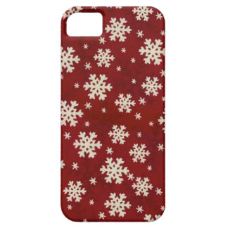 Christmas Snowflakes iPhone 5 Cases
