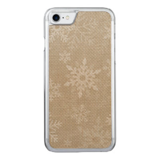 Christmas Snowflakes Iphone II Carved iPhone 8/7 Case