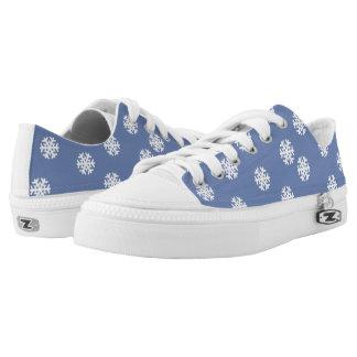 Christmas Snowflakes Low-Top Sneakers