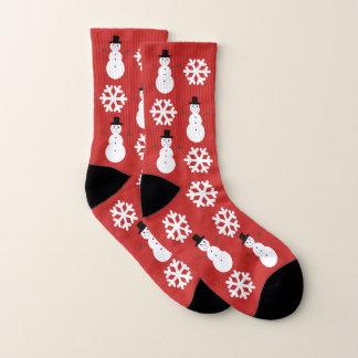 Christmas Snowflakes & Snowmen 1