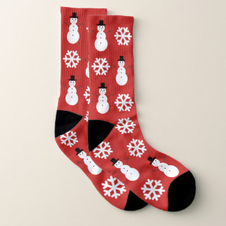 Christmas Snowflakes & Snowmen Large 1