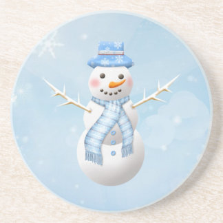 Christmas snowman Coaster