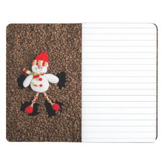 Christmas snowman decoration journal