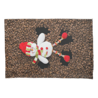 Christmas snowman decoration pillowcase