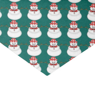 Christmas snowman Holiday tissue paper