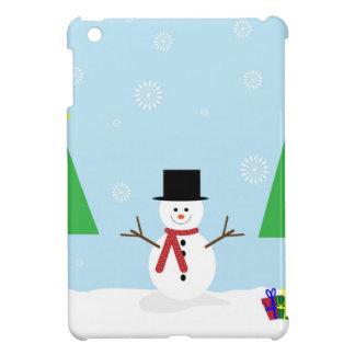 Christmas Snowman iPad Mini Cover