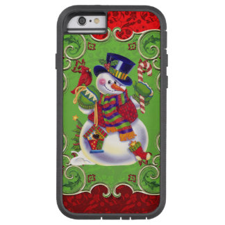 Christmas snowman iPhone 6 tough xtreme case