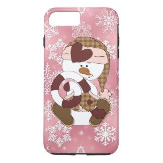 Christmas snowman iPhone 7 plus case