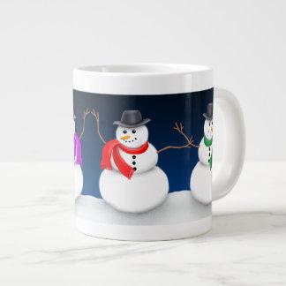 Christmas Snowman Jumbo Mug