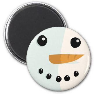 Christmas Snowman Magnet - Merry Xmas