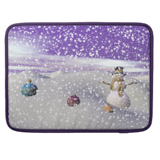 christmas snowman sleeves for MacBook pro