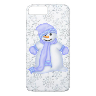 Christmas snowman snowflae iPhone 7 plus case