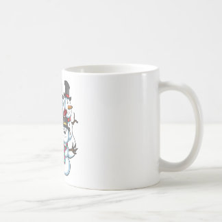 Christmas Snowmen Coffee Mug